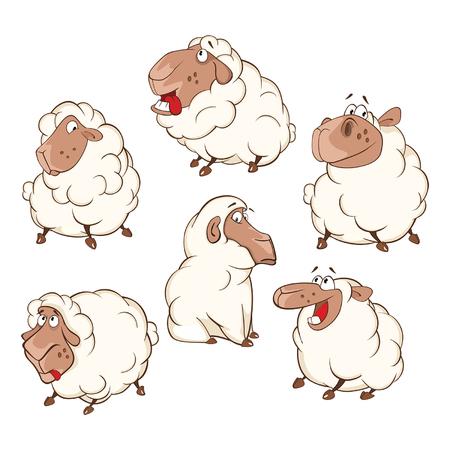 Set of Cartoon Cartoon Character Cartoon Character