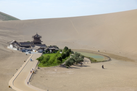 Crescent Moon Spring in Dunhuang