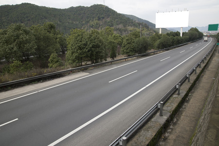 Highway billboards photo