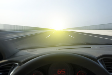 Vehicle speed highway Dashboard photo