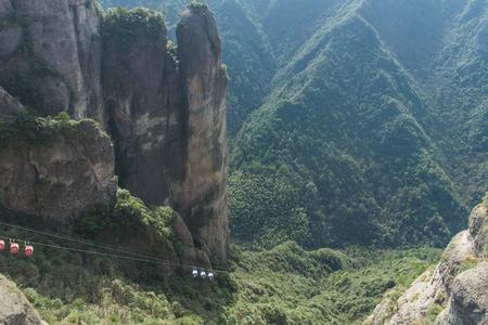 China Karst landform mountains Stock Photo