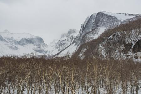 snow Changbai Mountain