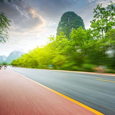 China Guilin Road Stock Photo