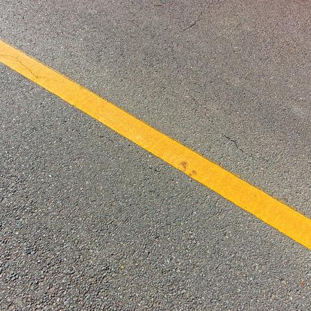 Asphalt road marking