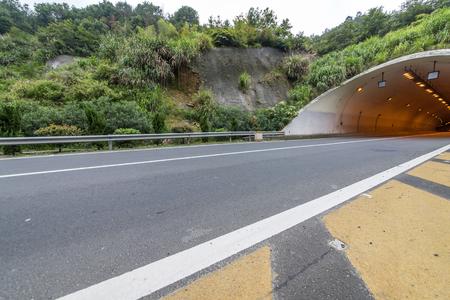 Tunnel Road Archivio Fotografico