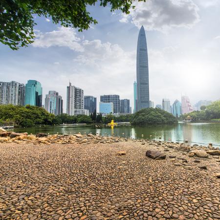 Lake view at Shenzhen, China