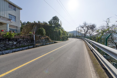mountain highway road