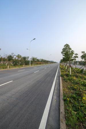 rural highway road Stok Fotoğraf - 106998964