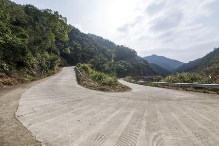mountain road 免版税图像