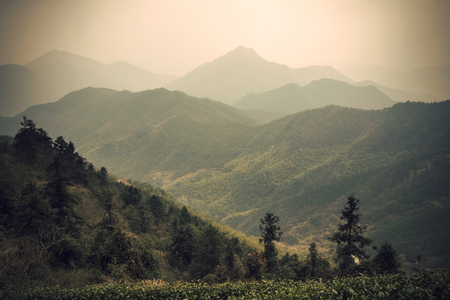 China mountains scenery Foto de archivo