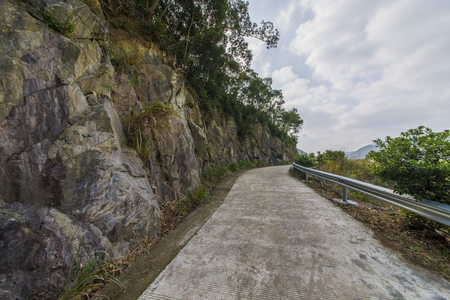 mountain road Banco de Imagens