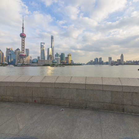 Shanghai Skyline -The Bund 新聞圖片