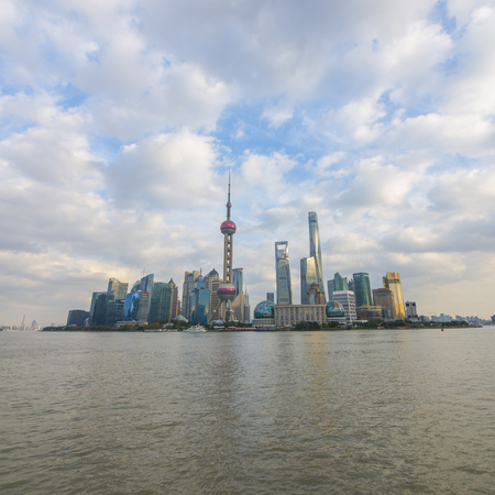 Shanghai Skyline- The Bund 新聞圖片