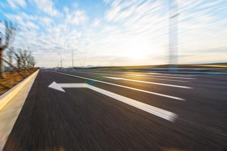 arrows on road