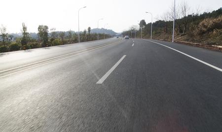 rural highway road Фото со стока