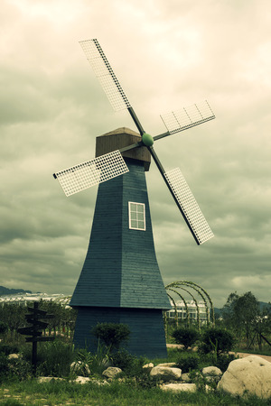 windmill Stockfoto