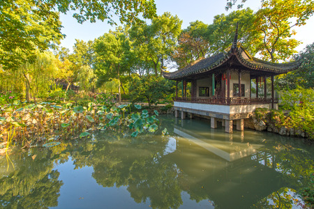 The classical gardens of Suzhou 에디토리얼