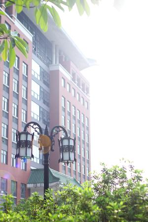 campus building: Campus building Editorial