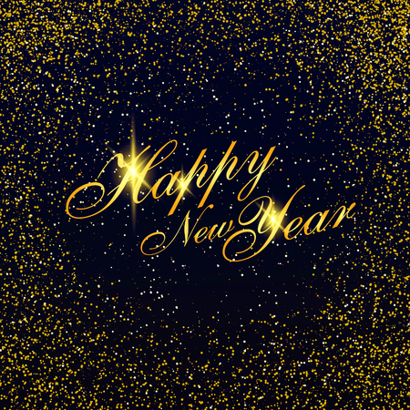 star background: Happy New Year background
