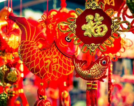 charm: Chinese New Year, oriental charm, the Spring Festival atmosphere.