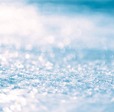 condensacion: Primer superficie de hielo, Resumen de antecedentes. Foto de archivo