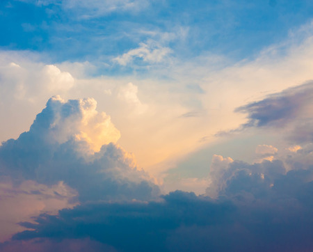 sunset clouds: Cumulus Sunset