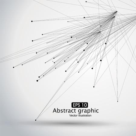 Dot i linia składa się z abstrakcyjnych grafik.
