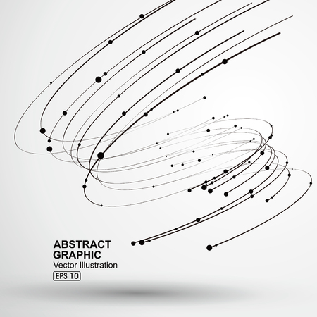 viento: Vector Tornado, gráficos abstractos.