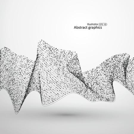 Punto de patrón de líneas de flujo compuesto por.