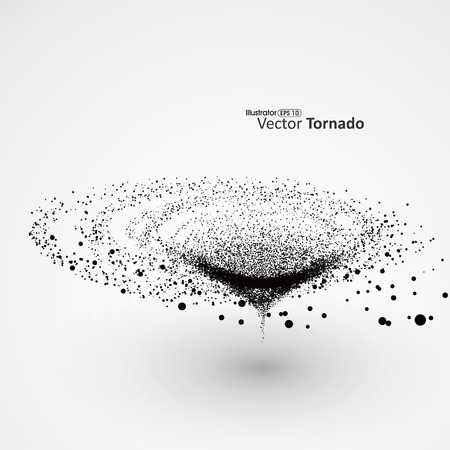twister: Vector Tornado,Particle Effects.