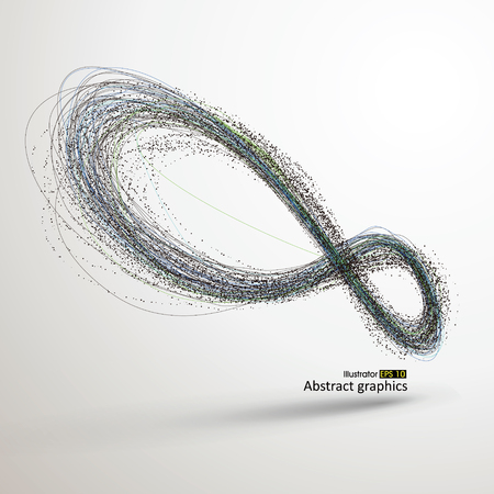 Unendlichkeit, Vektor-Illustration