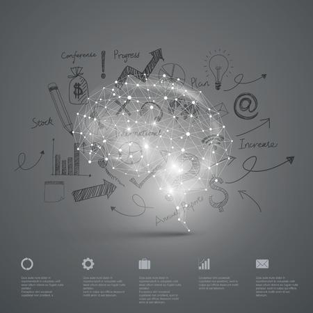 Vector Graphics, Gehirn, Zusammenfassung Hintergrund.