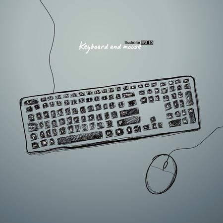 teclado: Teclado y rat?n