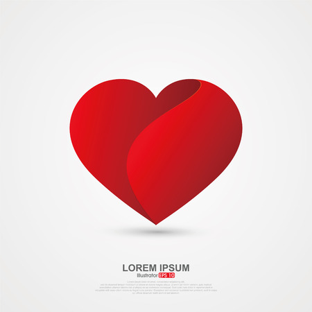 love image: Love image origami effect