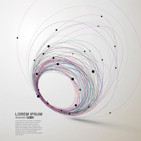 L'estratto turbina, illustrazione vettoriale