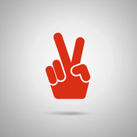 """OK"" conception geste icône"