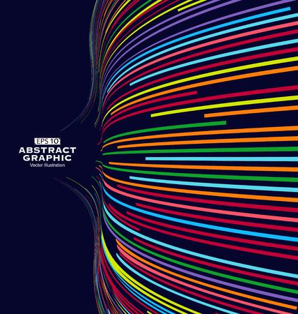 gráficos del abstracto, colores de la primavera.