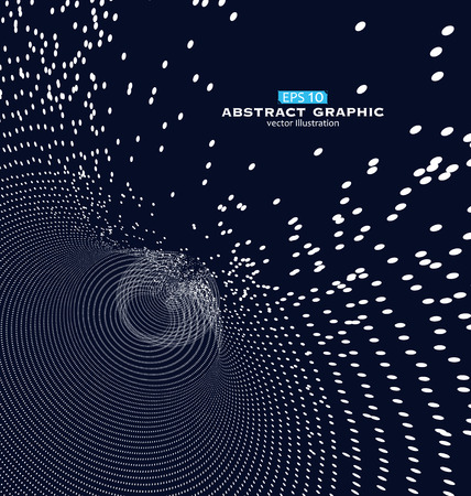 abstract swirl: Composed of particles swirling abstract graphics
