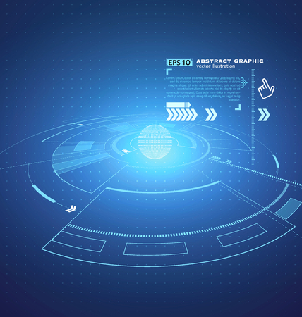 perpective: Three-dimensional interface technology, the future of user experience.