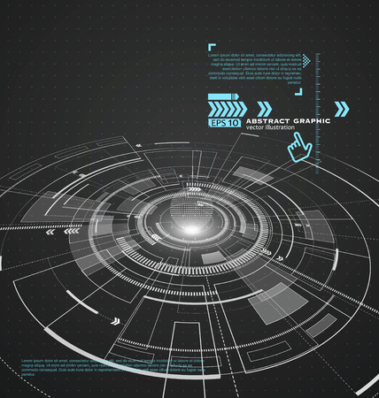 concise: Three-dimensional interface technology, the future of user experience.