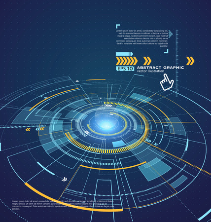Three-dimensional interface technology, the future of user experience.