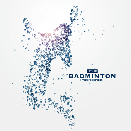 Sports Graphics particles, illustration.