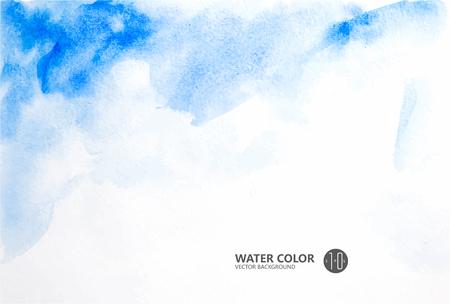 水彩画背景。