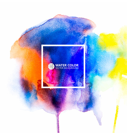 colours: watercolor painting background.