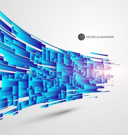 Abstracte graphics Vector Illustratie