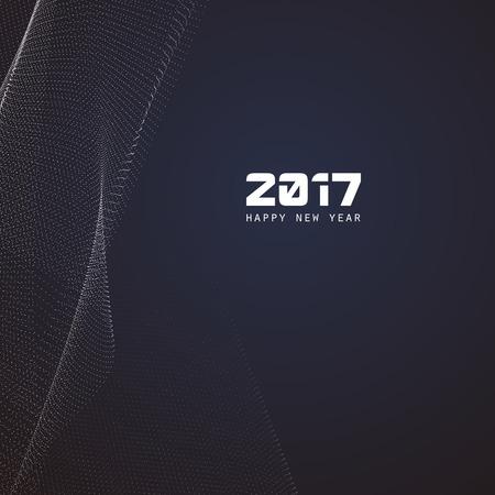 information age: 2017 banner background design.
