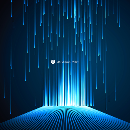 technology backgrounds: Lines composed of a sense of science and technology background.