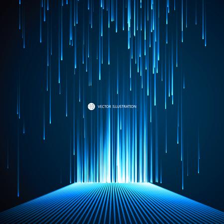 Linien aus einem Sinn für Wissenschaft und Technologie Hintergrund.