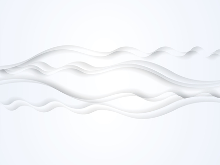 pape: Abstract ripple graphic design. Illustration