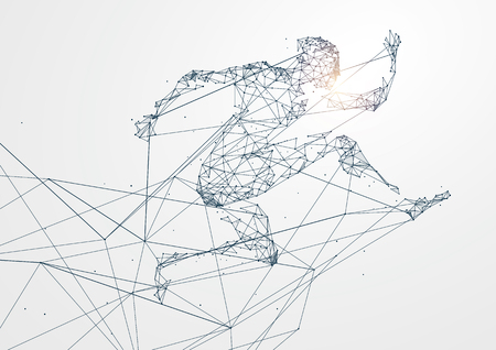 Running Man z połączeniem sieciowym zamienił się w obraz koncepcyjny